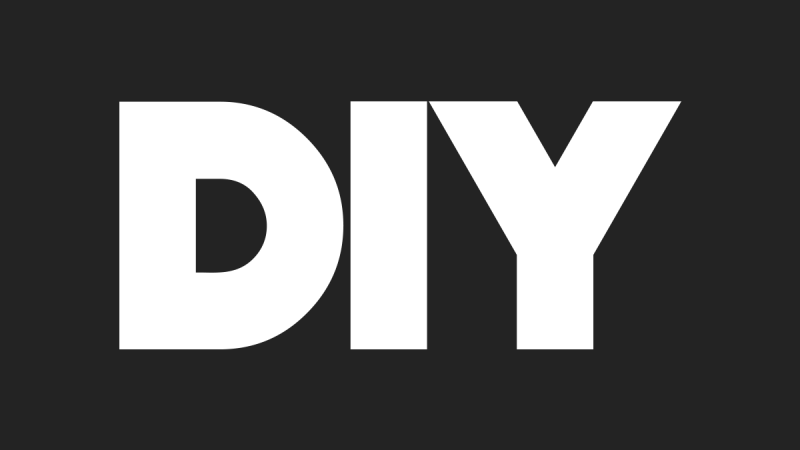 We're teaming up with DIY!