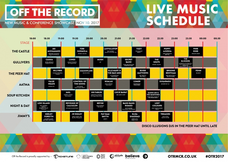 Announcing Off The Record 2017 Line-up!