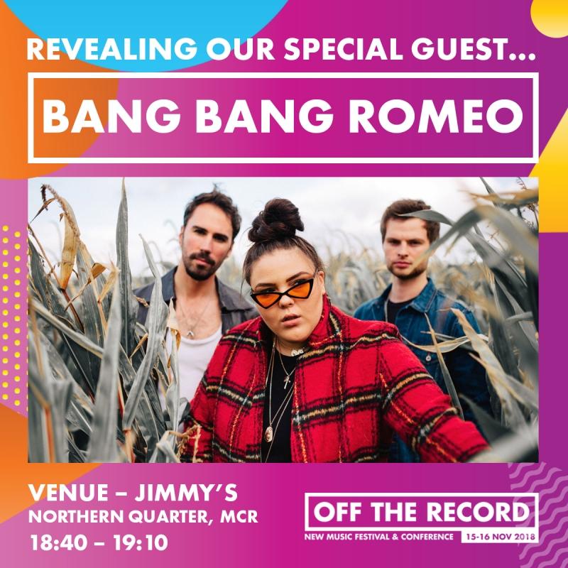 BANG BANG ROMEO are playing at OTR!