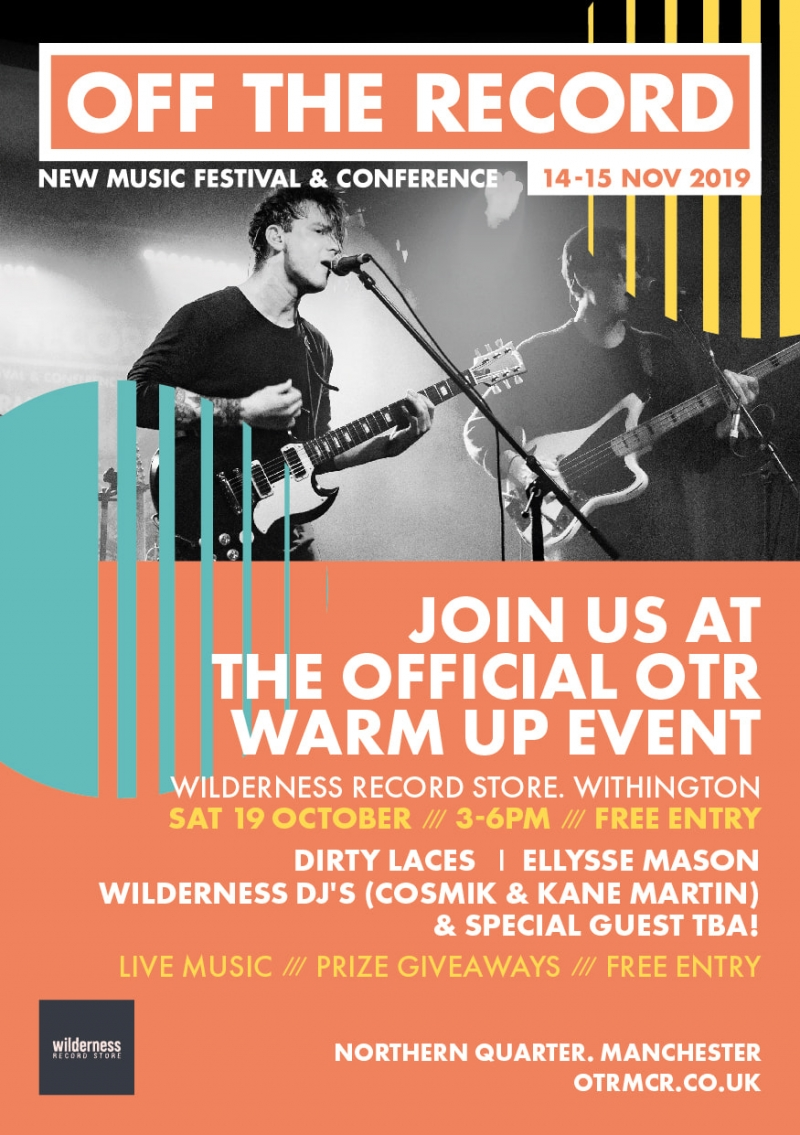 OTR x Wilderness Record Store: the official OTRMCR warm up!