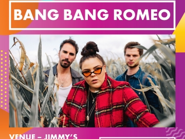BANG BANG ROMEO are playing at OTR!